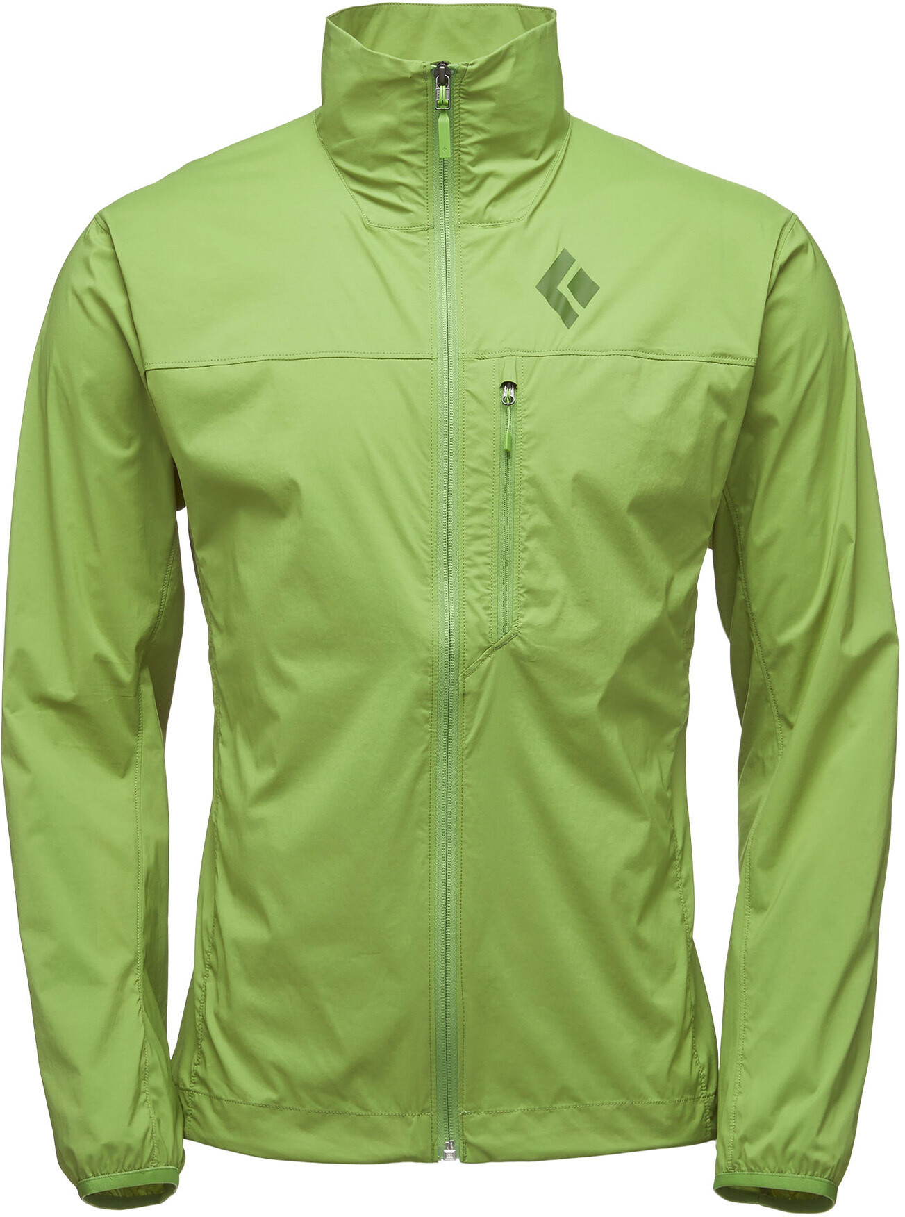 Black Diamond Alpine Start Jacket Herr verde