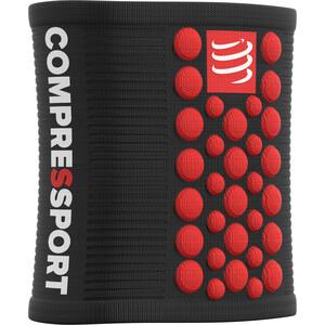Compressport 3D Dots Sweatbands black-red black-red