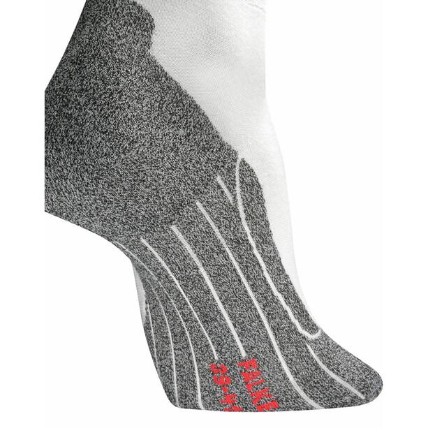Falke RU4 Light Chaussettes de running Femme, blanc/gris