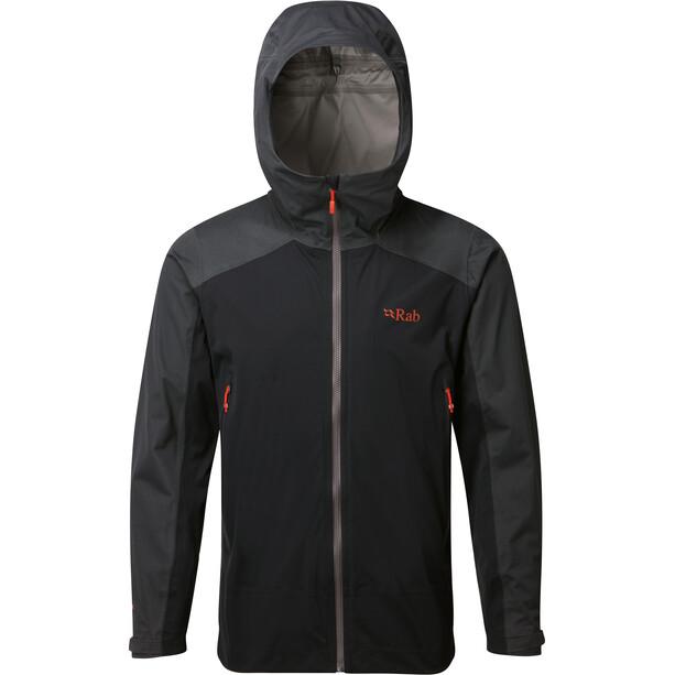 Rab Kinetic Alpine Jacke Herren beluga