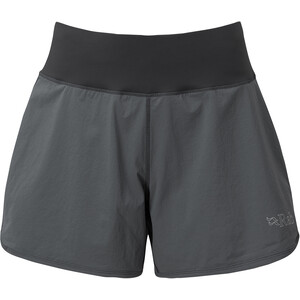 Rab Momentum Shorts Damen grau grau