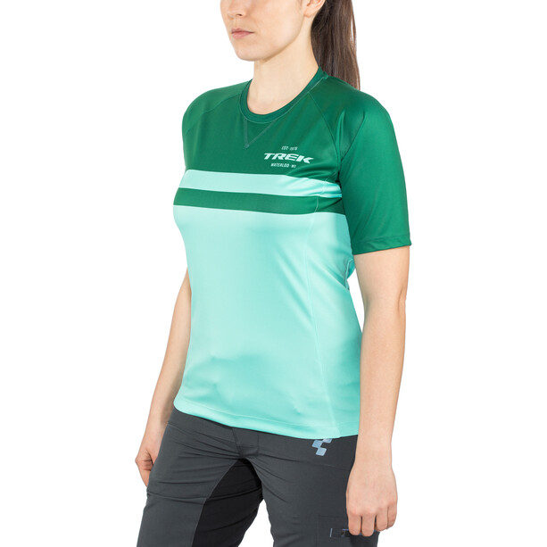 Bontrager Rhythm Tech T-Shirt Damen miami/british racing green