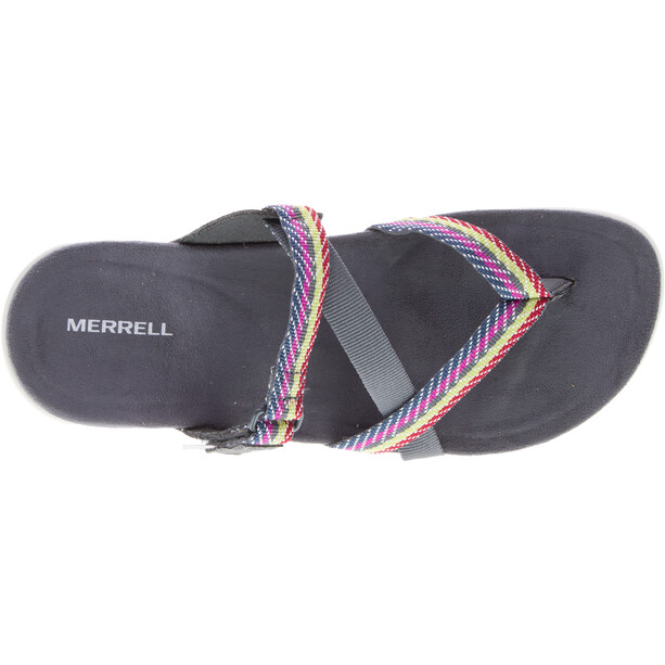 Merrell District Mendi Thong Slip-On-kengät Naiset, harmaa/monivärinen