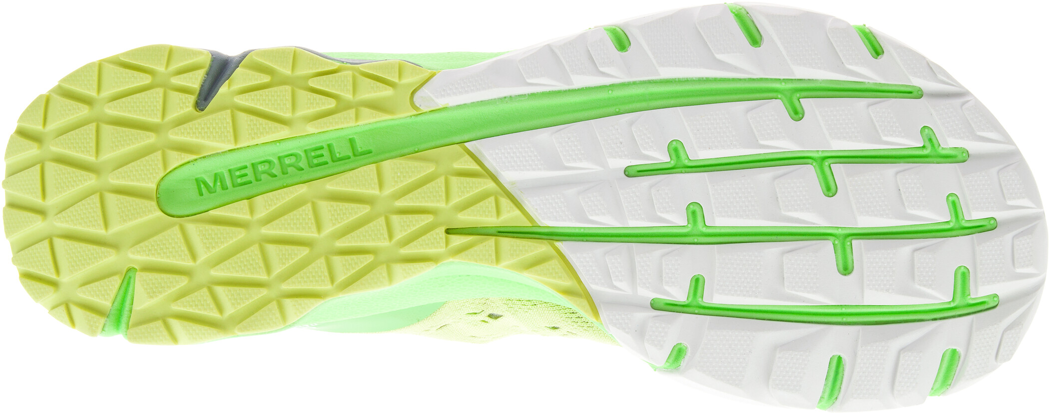 Merrell Bare Access Flex 2 E Mesh Shoes Dam sunny lime