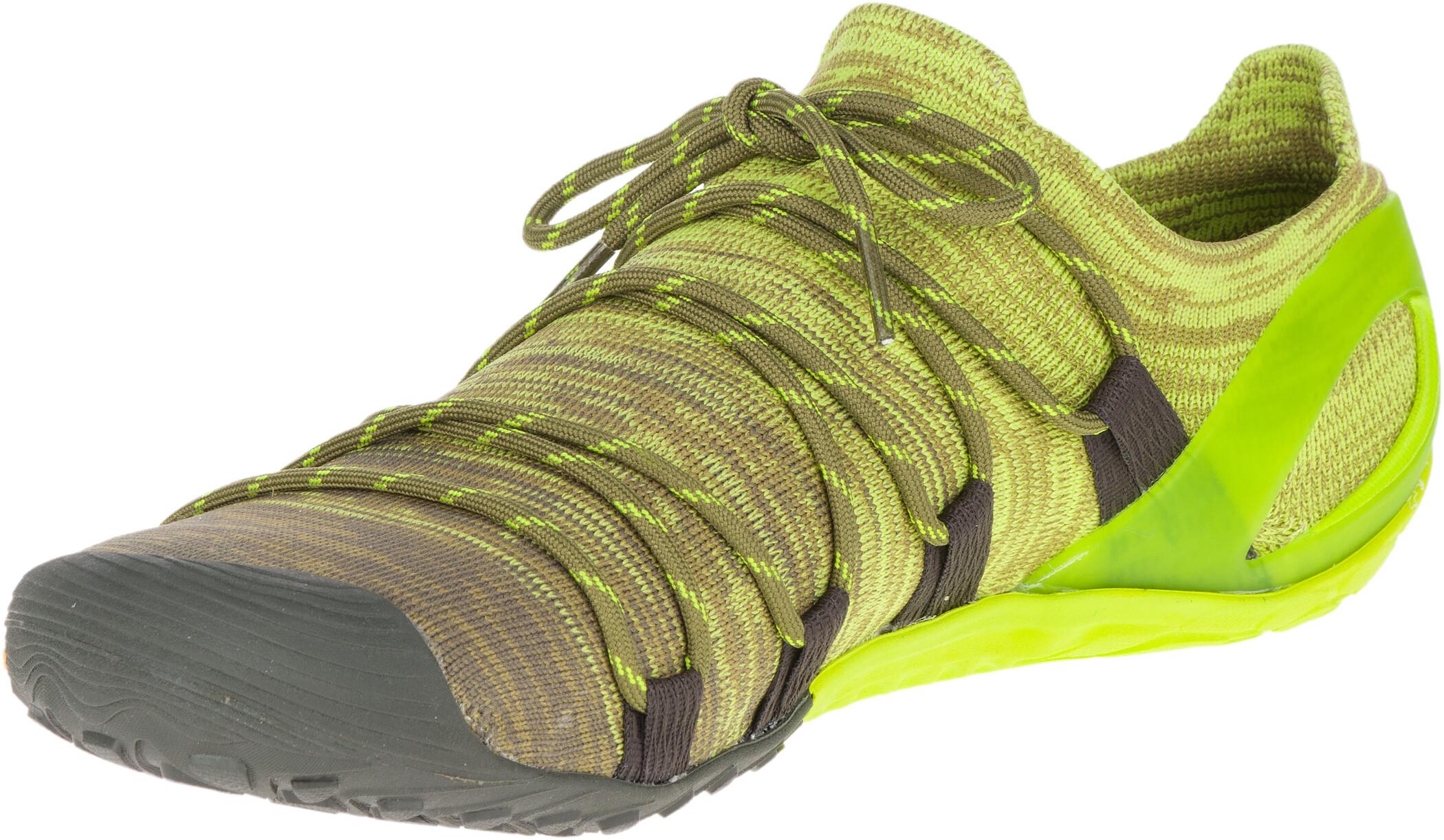 Merrell Vapor Glove 4 3D Shoes Herr olive drablime punch