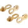 KMC 11R Ti-N Manglende link 2-Set Shimano/SRAM/KMC 11-speed, guld