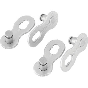 KMC 9NR EPT Missing Link 2-Set Campagnolo/Shimano/KMC 9-fach silber silber