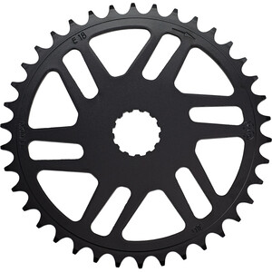 "KMC Chainring for Bosch Active And Performance Line 11/128"" 50 5mm ブラック"
