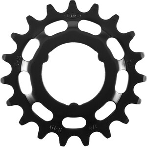 """KMC Sprocket voor Shimano 1/8"""" E-bike, zwart zwart"""