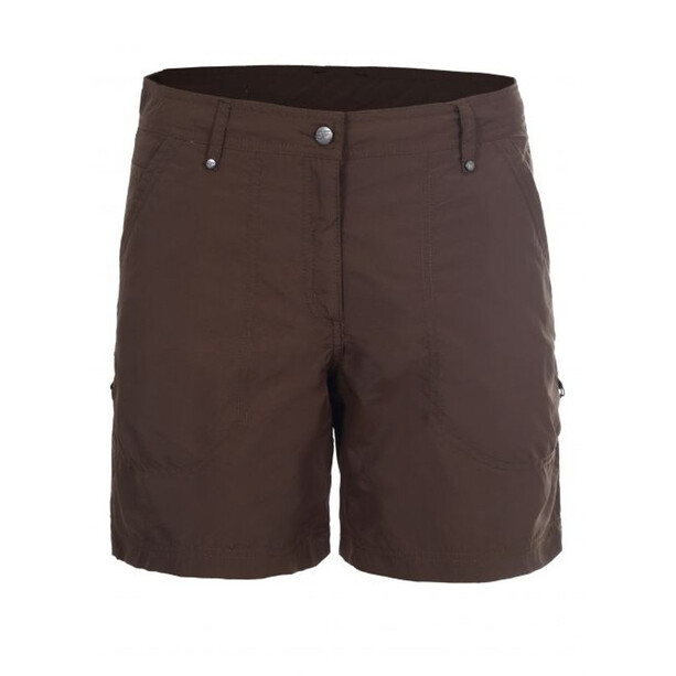 Icepeak Lilja Shortsit Naiset, dark brown