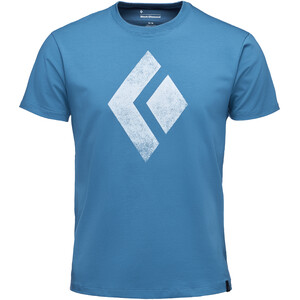 Black Diamond Chalked Up Kurzarm T-Shirt Herren astral blue astral blue