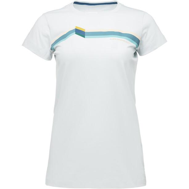Black Diamond Perspective Lyhythihainen T-paita Naiset, valkoinen