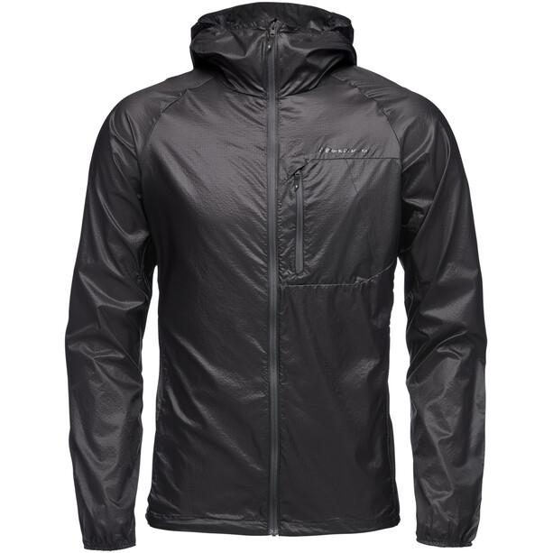 Black Diamond Distance Wind Shell Jacket Herr black
