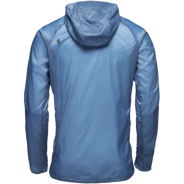 Black Diamond Distance Wind Shell Jacket Herr astral blue