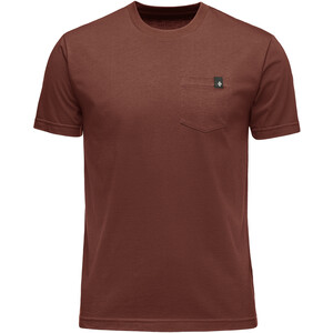 Black Diamond Crag Tee Herr red oxide red oxide
