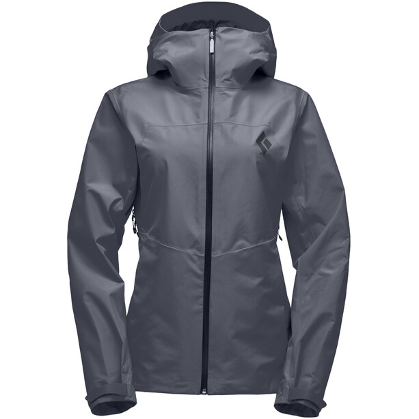 Black Diamond Liquid Point Shell Jacket Dam carbon