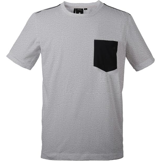 DIDRIKSONS Denny T-paita Miehet, grey melange