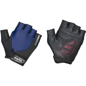 GripGrab ProGel Vadderade halvfingerhandskar svart/blå svart/blå