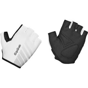 GripGrab Ride Lightweight Vadderade Halvfingerhandskar vit/svart vit/svart