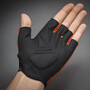 GripGrab Ride Lightweight Gepolsterte Kurzfinger-Handschuhe red