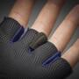 GripGrab Ride Lightweight Gepolsterte Kurzfinger-Handschuhe navy