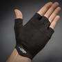 GripGrab Aerolite InsideGrip Kurzfinger-Handschuhe black
