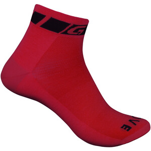 GripGrab Classic Low Cut Socken red red