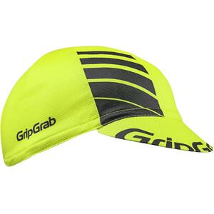 GripGrab Lightweight Summer Cycling Cap yellow hi-vis yellow hi-vis