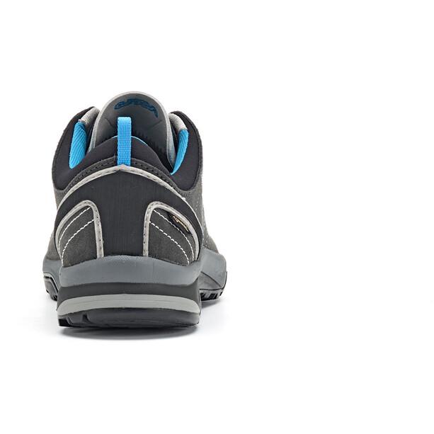 Asolo Nucleon GV Schuhe Damen graphite/silver/cyan blue