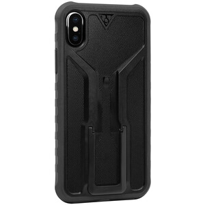 Topeak RideCase for iPhone X Case (ホルダー付)ブラック/グレー