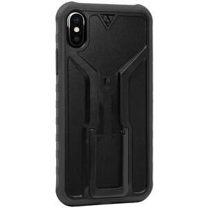 Topeak RideCase für iPhone X Hülle mit Halter schwarz/grau schwarz/grau
