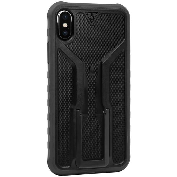 Topeak RideCase für iPhone X Hülle mit Halter schwarz/grau