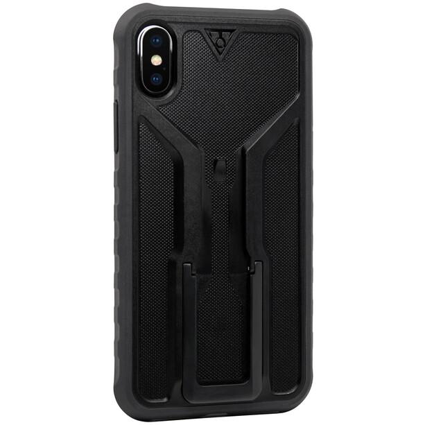 Topeak RideCase für iPhone X Hülle schwarz/grau