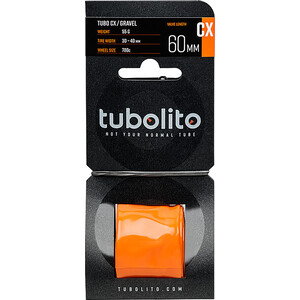 tubolito Tubo-CX/Gravel Tube orange orange