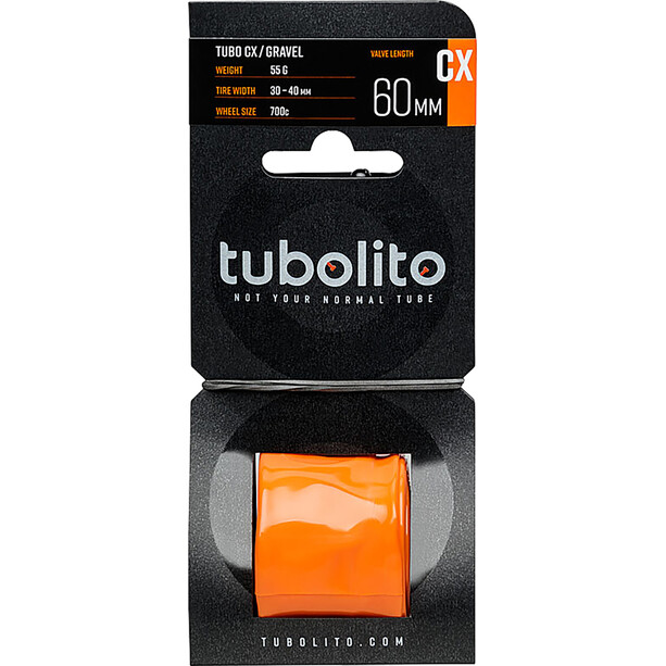 tubolito Tubo-CX/Gravel Tube orange