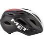 MET Idolo Helmet black shaded white red