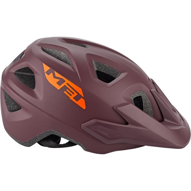 MET Echo Helmet burgundy
