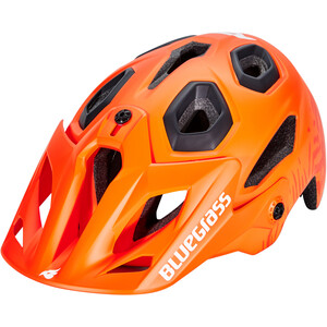 bluegrass Golden Eyes Helmet orange/texture/matt orange/texture/matt