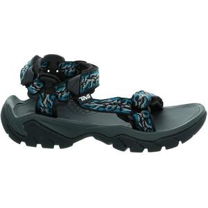 Teva Terra Fi 5 Universal Sandalen Damen schwarz/blau schwarz/blau