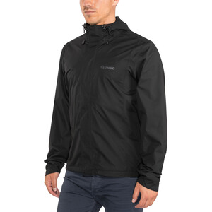 Gonso Save Light Rain Jacket Men, black black