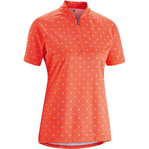 Gonso Marina Shirt Dam hot coral