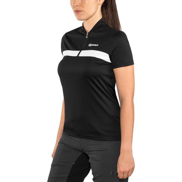 Gonso Rosa Shirt Damen black