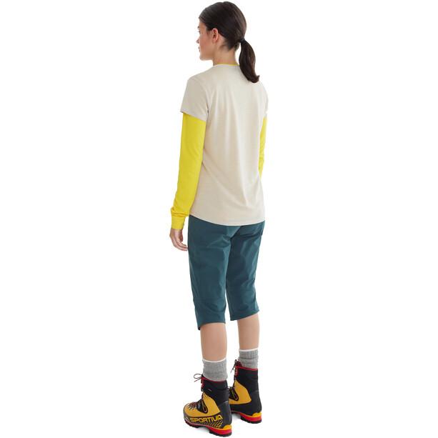 Klättermusen Vile Kurzarm T-Shirt Damen moon