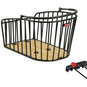 KlickFix Aluminio GT リアホイール Basket(Racktime用)ブラック