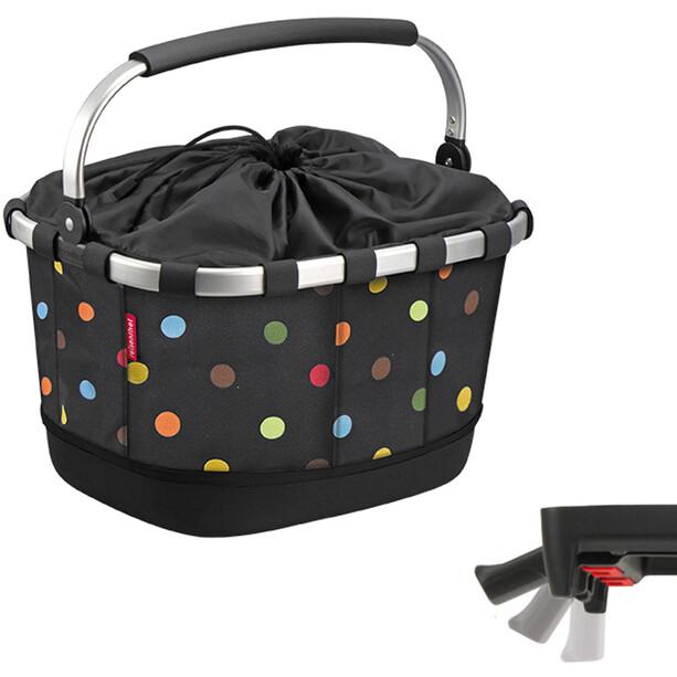 KlickFix Reisenthel Carrybag GT Fahrradkorb mit UniKlip dots