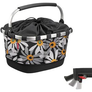 KlickFix Reisenthel Carrybag GT Fahrradkorb mit UniKlip margarite margarite