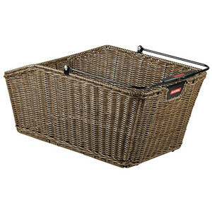 KlickFix Structura GT Luggage Carrier Basket With Basket Clip ブラウン