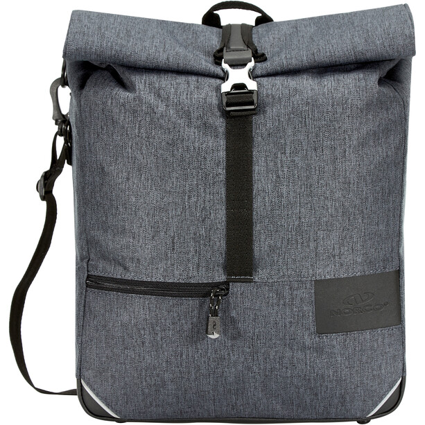 Norco Fintry City Bike Bag tweed grey