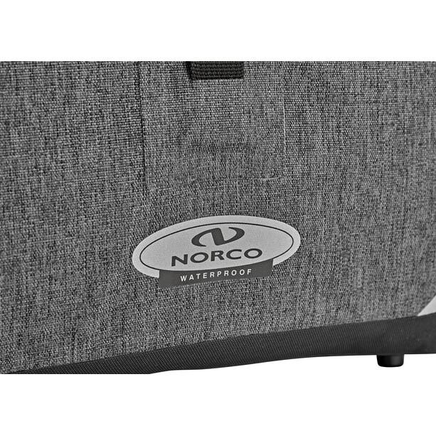 Norco Kilmore Commuter Fahrradtasche tweed grau-schwarz