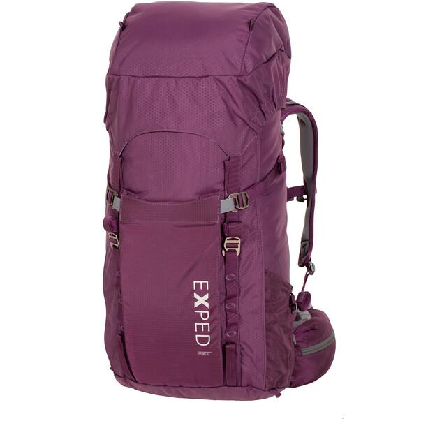 Exped Explr 45 Trekking Backpack Dam dark violet